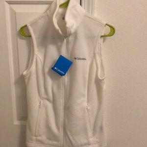 Brand new Columbia fleece vest!